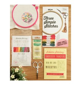 Jen Senor, Instructor 08/04/18: Jen's Intro to Hand Embroidery Class