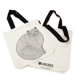 "Gingiber ""Catnip"" Tote Bag by Gingiber"