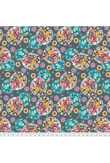 Amy Butler Night Music, Cloud Blossom in Heather, Fabric Half-Yards CPAB007