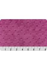 Shannon Fabrics Cuddle Dimple Minky in Raspberry, Fabric Half-Yards