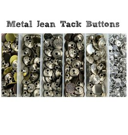 Metal Jean Tack Buttons - size27L