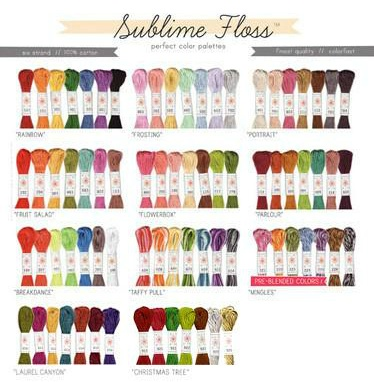 Sublime Stitching Sublime Stitching Embroidery Floss - Sets of Seven 8.75 yard skeins