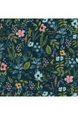 Rifle Paper Co. Amalfi, Herb Garden in Navy, Fabric Half-Yards AB8044-002