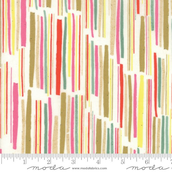 Moda Meraki, Aknaten in Marzipan, Fabric Half-Yards 30491 11