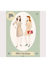 Sew Over It Sew Over It 1940s Tea Dress Paper Pattern