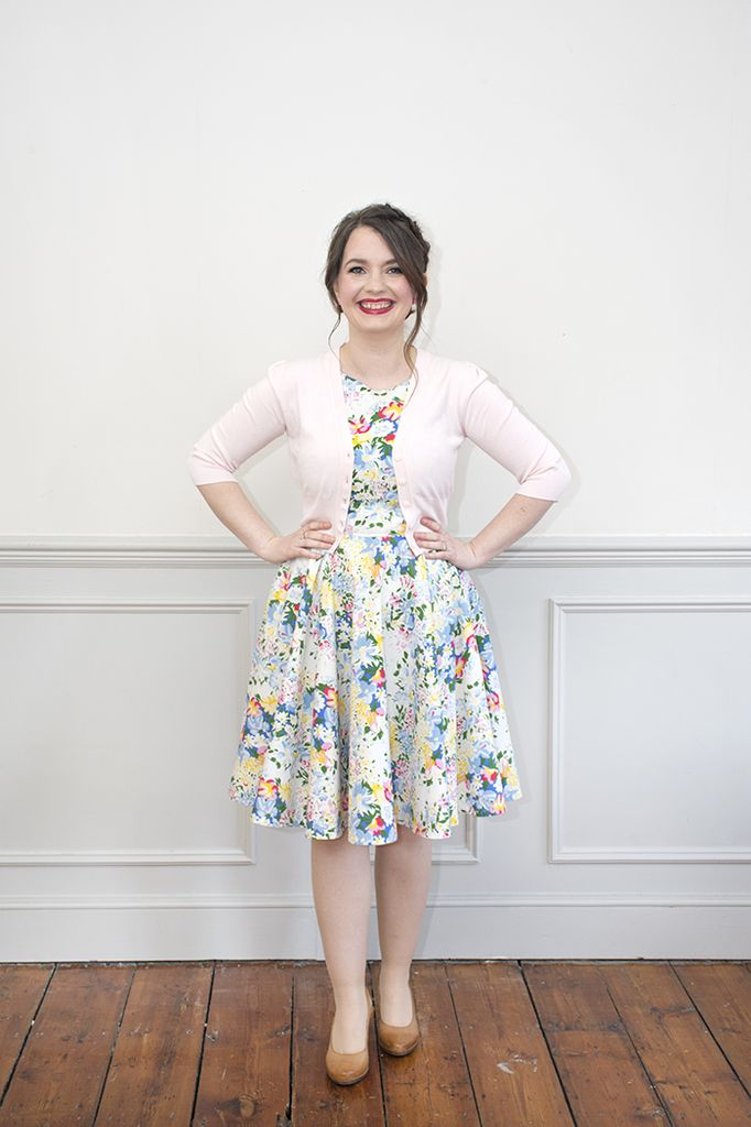 Sew Over It Betty Dress Paper Pattern - Picking Daisies