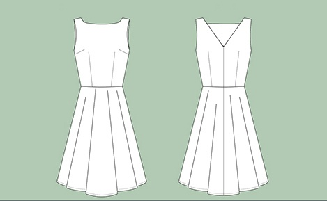 Sew Over It Sew Over It Betty Dress Paper Pattern