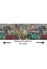 P & B Textiles Graphitti, Graffiti in Multi, Fabric Half-Yards 473626762