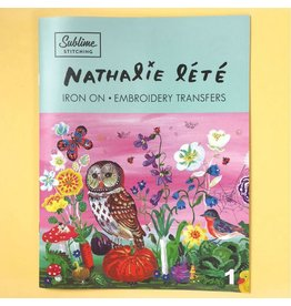 Sublime Stitching Nathalie Lete Embroidery Transfer Booklet from Sublime Stitching