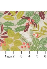 PD's Alexander Henry Collection Christmas Time, Pine Berry in Taupe, Dinner Napkin