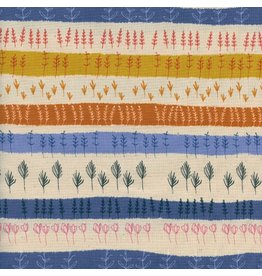 Cotton + Steel Firelight, Herb Garden in Natural Unbleached Cotton, Fabric Half-Yards  C5180-002