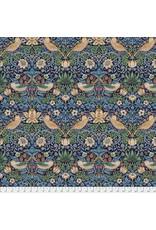 William Morris & Co. Morris & Co., Kelmscott Strawberry Thief in Navy, Fabric Half-Yards PWWM001