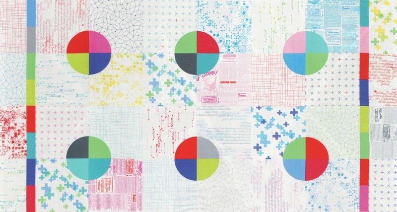"Zen Chic Modern BG Colorbox, Panel in White, 24"" Fabric Panel"