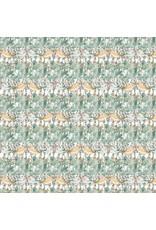 Shell Rummel Bloom Beautiful, Secret Garden in Sage, Fabric Half-Yards PWSR014