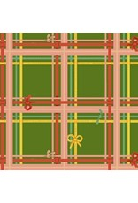 Heather Ross Sugarplum, Plaid in Green, Fabric Half-Yards 50168