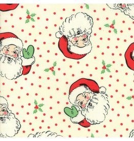 Moda Swell Christmas, Santas in Cream, Fabric Half-Yards 31120 11