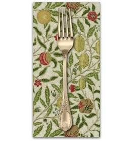 PD's William Morris Collection Morris Holiday, 1866 Fruit in Linen, Dinner Napkin