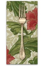 PD's William Morris Collection Morris Holiday, 1905 Single Stem in Linen, Dinner Napkin