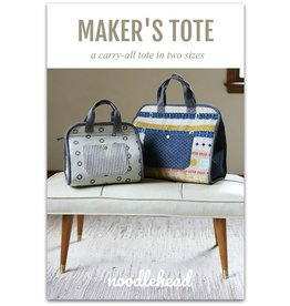 Anna Graham of Noodlehead Noodlehead's Maker's Tote Pattern