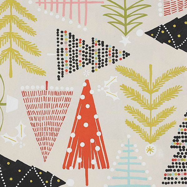PD's Alexander Henry Collection Christmas Time, Holiday Pines in Sand, Dinner Napkin