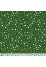 PD's Blend Fabrics Collection A Winters Tail, Light It Up in Green, Dinner Napkin