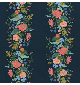 Rifle Paper Co. English Garden, Floral Vines in Dark, Fabric Half-Yards AB8058-002