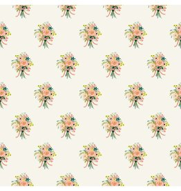 Rifle Paper Co. English Garden, Bouquets in Cream, Fabric Half-Yards AB8061-001