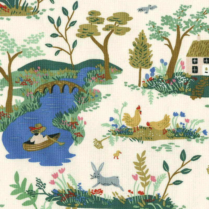 PD's Rifle Paper Co Collection English Garden, Garden Toile in Cream, Dinner Napkin
