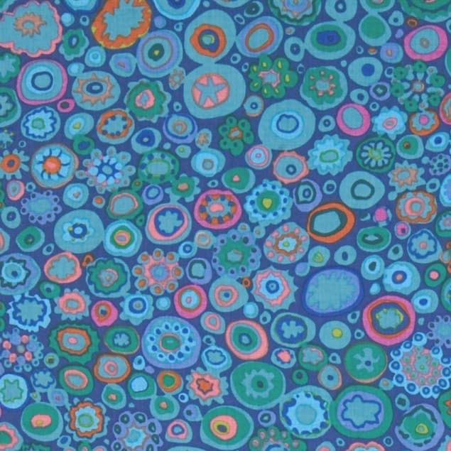 PD's Kaffe Fassett Collection Kaffe Classics, Paperweight in Teal, Dinner Napkin