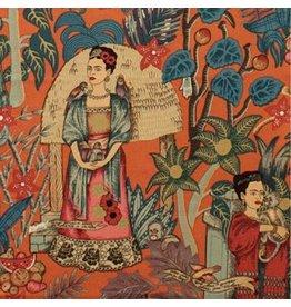 Alexander Henry Fabrics Folklorico, Fridas Garden in Terra Cotta, Fabric Half-Yards 6752CR