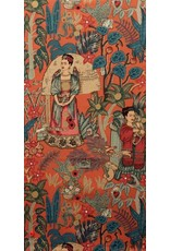 PD's Alexander Henry Collection Folklorico, Fridas Garden in Terra Cotta, Dinner Napkin
