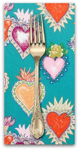 PD's Alexander Henry Collection Folklorico, Alma y Corazon, Dinner Napkin