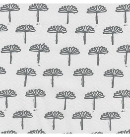 Karen Lewis Blueberry Park, Trees in Silver, Fabric Half-Yards AWI-17467-186