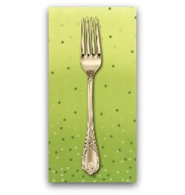 PD's Moda Collection Ombre Confetti in Lime Green, Dinner Napkin