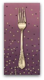 PD's Moda Collection Ombre Confetti in Plum, Dinner Napkin