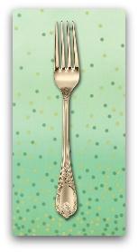 PD's Moda Collection Ombre Confetti in Mint, Dinner Napkin