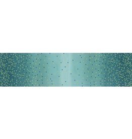 V & Co. Ombre Confetti in Lagoon, Fabric Half-Yards 10807 207M