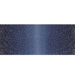 V & Co. Ombre Confetti in Indigo, Fabric Half-Yards 10807 225M