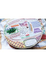 Dropcloth Samplers Sequel Sampler, Embroidery Sampler from Dropcloth Samplers