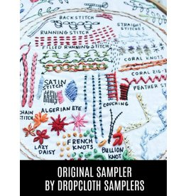 Dropcloth Samplers The Original Sampler, Embroidery Sampler from Dropcloth Samplers