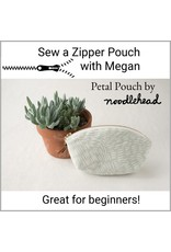 Megan Selby, Instructor 12/08/18: Make a Zipper Pouch with Megan