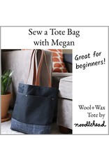 Megan Selby, Instructor 11/17/18: Make a Tote Bag with Megan