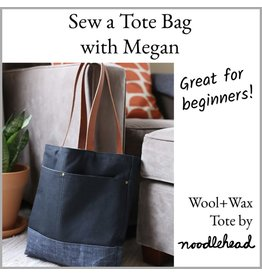 Megan Selby, Instructor 11/17/18: CLASS FULL! Make a Tote Bag with Megan