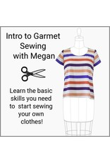 Megan Selby, Instructor 10/13/18: Intro to Garment Sewing with Megan