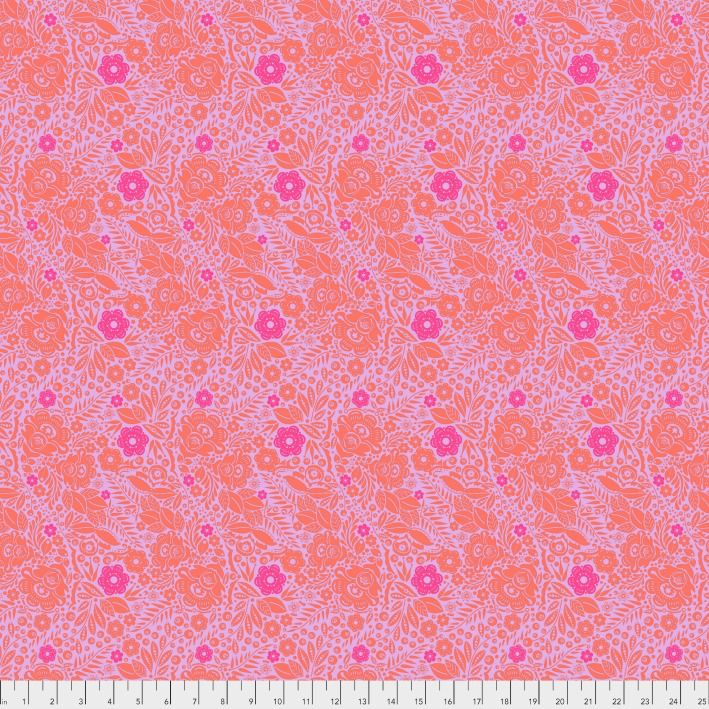 Anna Maria Horner Passionflower, Lace in Marmalade, Fabric Half-Yards PWAH132