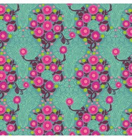 Anna Maria Horner Passionflower, Imposter in Patina, Fabric Half-Yards PWAH128