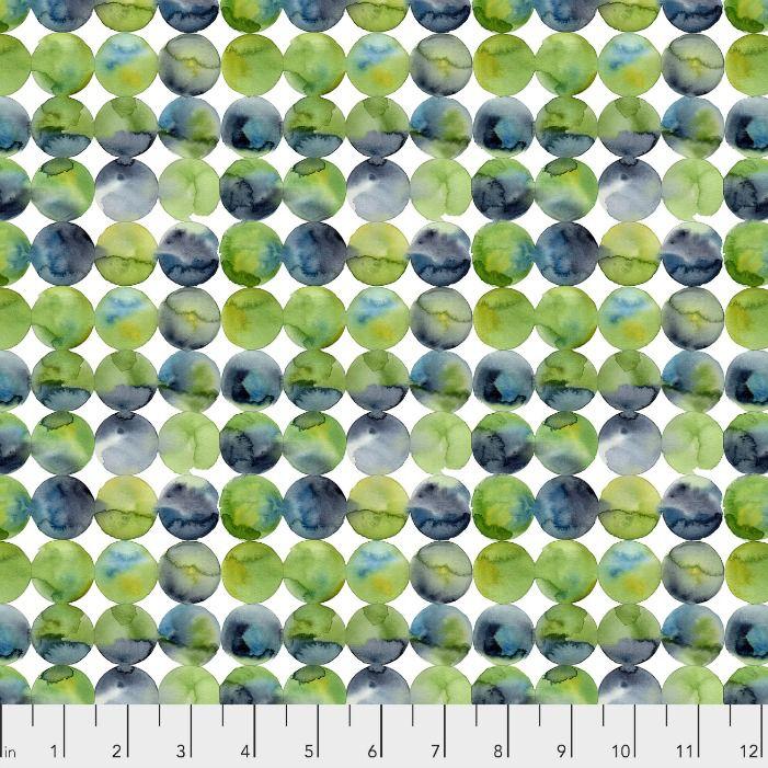 Natalie Malan Georgia Blue, Full Moon in Navy, Fabric Half-Yards PWNM011