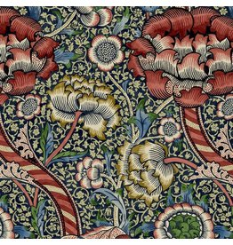 William Morris & Co. Morris & Co., Montagu Wandle in Medici, Fabric Half-Yards PWWM015