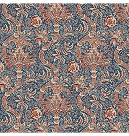 William Morris & Co. Morris & Co., Montagu Indian in Medici, Fabric Half-Yards PWWM017