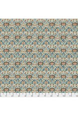 William Morris & Co. Morris & Co., Montagu Little Chintz in Forest, Fabric Half-Yards PWWM016